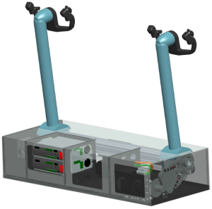 3D view of CL-2Y force feedback system