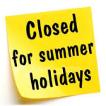 closed-for-summer-holidays